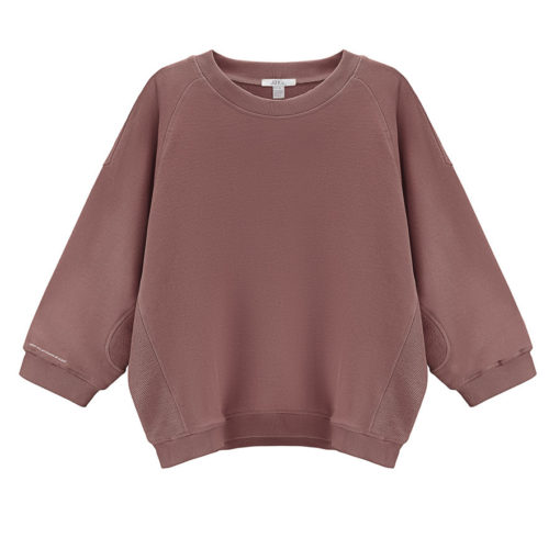 Sweat shirt de yoga lava en coton certifié oeko tex - Stelvoren