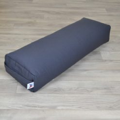 Bolster de yoga rectangulaire grand format Grey