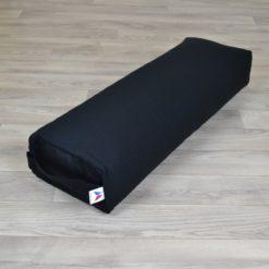Bolster de yoga rectangulaire grand format Black - Stelvoren