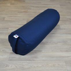 Bolster de yoga cylindrique grand format Dark Blue - Stelvoren
